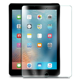 ipad transparent screen NZ - 0.4mm Transparent Premium Tempered Glass Film for iPad Pro 10.5 Inch 9H Glass Screen Protector for the New iPad Air 3 10.5""
