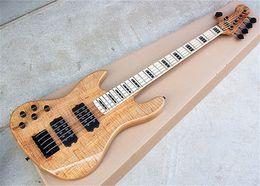 $enCountryForm.capitalKeyWord Australia - Hot Sale Fend 5-string Left Hand ASH Body Electric Bass Guitar with Maple Fingerboard,Black Hardwares,HH pickup,ASH Body.