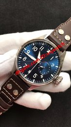 AutomAtic chronogrAph wAtches leAther online shopping - 2019 luxury fashion Portuguese men s watch automatic mechanical sapphire watch chronograph calendar mm leather waterproof brand