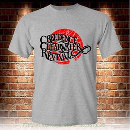 $enCountryForm.capitalKeyWord NZ - Men T-shirt Men Clothing Plus Size Creedence Clearwater Revival Rock Band Grey T-shirt Men's Tshirt S To 3xl