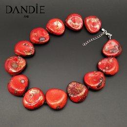 $enCountryForm.capitalKeyWord Australia - Dandie Fashionable acrylic bead necklace, simple female jewelry