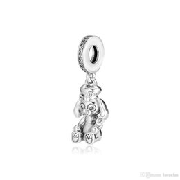 baby charms pandora bracelets Australia - 2019 Mother's Day 925 Sterling Silver Jewelry Baby Rabbit Judi Charm Beads Fits Pandora Bracelets Necklace For Women DIY Making