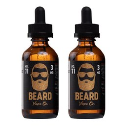 Original Beard No.71 E-Liquid Vape Juice E-Cigarette E Liquid Flavors 60ml in 6mg from liquid king manufacturers