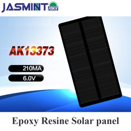 $enCountryForm.capitalKeyWord Australia - 133*73mm 6V 210mA Epoxy Solar Panel Photovoltaic Panel mono Solar Cell Power Energy Module DIY for charging phone charge bank