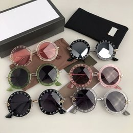 black round sunglasses for women NZ - Luxury 0113 Designer Sunglasses For Women Fashion Round Summer Style Black Gold Frame eyewear Top Quality UV Protection Lens