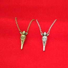Potion Bottles Pendant Australia - Felix Felicis necklaces Felix Felicis Potion Bottle pendants for women men magic alloy movie statement jewelry-P