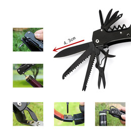 Gear Tools Australia - 10in1 MultiTools plier Knife Cutter Outdoor Camping Multifunction Conbination edc hand Tool Folding Survival gear Hand knife tools