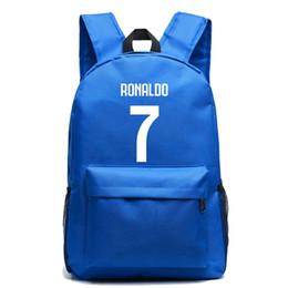 1ebfe6cd0f15 Cristiano Ronaldo Canvas Bag Backpack Foot Ball Backpacks Student School Bag  For Teenagers Boy Girl RuckSack Travel Laptop Bag