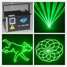 $enCountryForm.capitalKeyWord Australia - Free Shipping Sound Activated 2500 MW Green Animated ILDA Laser Light With SD Card For DJ Home Party