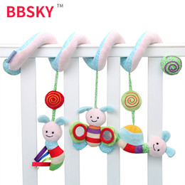 Toys Hangings For Car Australia - Baby toys for newborns 0-2 years old music beeping bee insect bed car hanging bed hanging bell no box