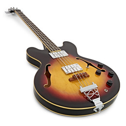 hollow bass guitars 2019 - 4 strings redsub bass hollow body vintage sunburst 22 frets electric guitar bass Factory outlet