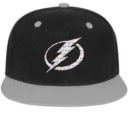 Cotton Bay Australia - Tampa Bay Lightning red love Stone Unisex Man Hats Women Caps Retro Cotton Snapback Flatbrim Sports Hat Ball Caps for Men