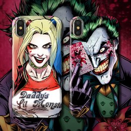 $enCountryForm.capitalKeyWord Australia - For Iphone Xs Max X Xr Phone Case Clown Bat Trend Brand For Apple 7 8 6 Plus All-Inclusive Hard Cell Phone Cases