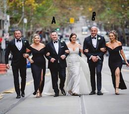 $enCountryForm.capitalKeyWord Australia - Best Desigen Groom Tuxedos Shawl Lapel Trim Fit Groomsmen Wedding Tuxedos Men Party Suits((Jacket+Pants) Large suit3XL -5XL