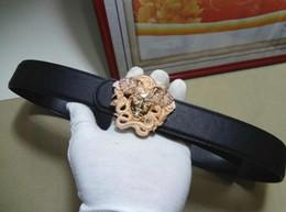 $enCountryForm.capitalKeyWord Australia - Hot selling new Mens womens black belt Genuine leather Business belts Pure color belt snake pattern buckle belt for gift 0387