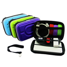 $enCountryForm.capitalKeyWord Australia - Mini Portable Digital Accessories Travel Storage Bag For Earphone SD Card Data Cable External Baery Organizer Pouch 4 Colors