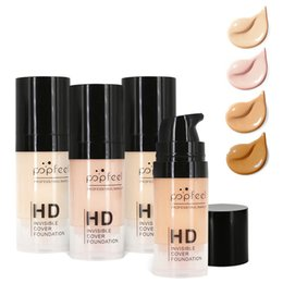 $enCountryForm.capitalKeyWord NZ - Brands 15ml HD Professional Makeup Liquid Foundation Long Lasting Waterproof Base Flawless Cover Pores Wrinkle Freckle Firm Face Concealer