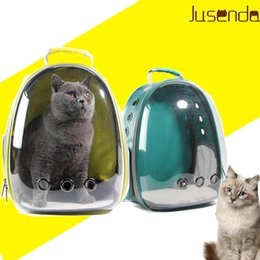 $enCountryForm.capitalKeyWord Australia - Cat-carrying Backpack Pet Cat Backpack For Kitty Puppy Chihuahua Small Dog Carrier Crate Outdoor Travel Bag Cave For Cat Y19061901