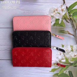 Le plus de mode Qualité luxe Nouveau sac de soirée Porte-monnaie classique gaufrée Clutch Wallet Mme Designer Wallet Mme Belt Bag (avec la boîte) en Solde