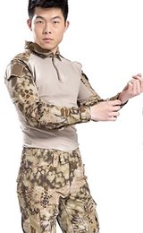 $enCountryForm.capitalKeyWord Australia - Military BDU Uniform Tactical Combat Training Suit for Airsoft Wargame Dry Quick Hunting Shirt Camouflage Pants Outfit