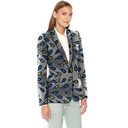 $enCountryForm.capitalKeyWord Australia - African fashion women's print blazers plus size Ankara suit jackets custom made wedding wear female blazer outer coat