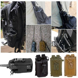 $enCountryForm.capitalKeyWord Australia - Free shipping Wholesales 2019 Outdoor Tactical Sport Military Molle Nylon Radio Walkie Talkie Holder Bag Pouch
