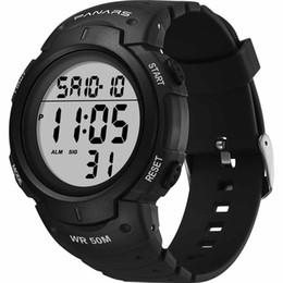 $enCountryForm.capitalKeyWord Australia - Mens Digital Watch Waterproof Multi Function Dual Display Pointer Luminous Sports Electronic Watch Male Wrist Watches digital