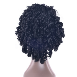 $enCountryForm.capitalKeyWord UK - 5 Colors Synthetic Hair Black Cosplay Wigs Afro Curly Party Hair Accessories Short Wig For Black Women & Men