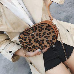 Discount small handbags for cell phones - Leopard Flag Bags For Women Shoulder Bags 2018 Winter Plush Women Messenger Bag Chains Females Handbag Small Girls Bag N