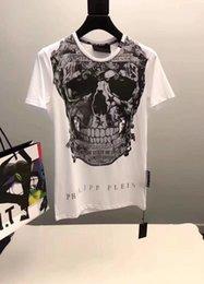 $enCountryForm.capitalKeyWord Australia - Brand mens designer t shirts Europe America street fashion hip hop P P t shirt Personalized skull print tshirt outdoor sport leisure shirt