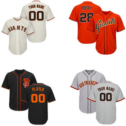 Crawford jerseys online shopping - Youth Hunter Pence Jersey San Francisco Custom SF Giants Stitched Brandon Belt Madison Bumgarner Kids Brandon Crawford Baseball Jerseys