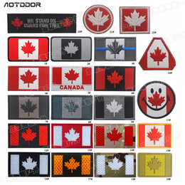 $enCountryForm.capitalKeyWord NZ - Canadian National Flag Patches Embroideried Military Uniform Tactical Maple Leaf Flag Embroidery Badge Canada Patches