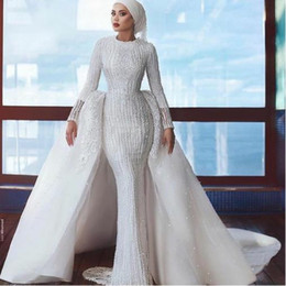 $enCountryForm.capitalKeyWord UK - Evening dress Yousef aljasmi Labourjoisie Zuhair murad James_paul7 A-Line Long Sleeve White Crew Neck Tulle Crystal Appliqued Long Dress