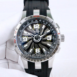 $enCountryForm.capitalKeyWord Australia - Limited New Turbine Pilot A1085-1 Titanium Dial Automatic Mens Watch Tachymeter Scale Appears Steel Bezel Black Rubber Sport Gents Watches