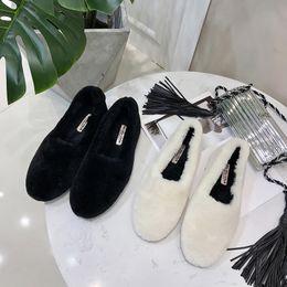 $enCountryForm.capitalKeyWord Australia - Gorgeous2019 Flat Head Circle Baby Xie Ping With Doug Shoe Jurchen Coat White Lamb Mao Lefu Increase Down Cotton-padded Shoes Tide