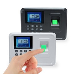 Discount biometric attendance machine - Password Biometric Fingerprint Time Attendance System Clock Recorder Office Employee Recognition Recording Device Intell