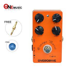 $enCountryForm.capitalKeyWord Canada - Caline CP-18 Orange Burst Overdrive Pre AMP Electric Guitar Effect Pedal