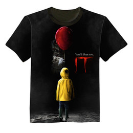 $enCountryForm.capitalKeyWord Australia - NEW 3D Printed T-Shirt Stephen King It Movie 2018 Pennywise Horror Clown Men Women