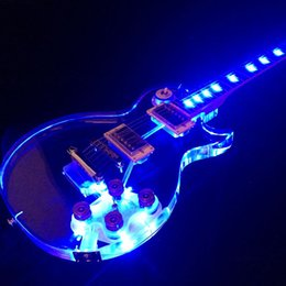 $enCountryForm.capitalKeyWord Australia - Lp LED Electric Guitar More Color Can Choose Acrylic Body 22 Frets Gold Hardware Starshine Good Quality New Desugn