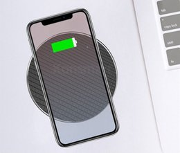 Wholesale For Iphone X XS Max XR wireless charger w Fast Quick Qi Charger wireless charger charging pad stand For Samsung S9 Note