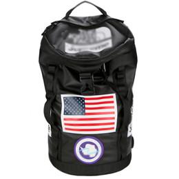 Großhandel Sup 19SS Sup THE North Unisex Reisetasche Wasserdichte Reisetasche Canvas Rucksack Sport Rucksäcke Outdoor Gesicht Handtasche