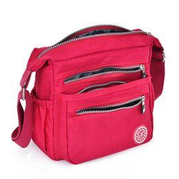 Nylon Totes Bags Australia - Nylon Women Messenger Bags Small Purse Shoulder Bag Female Crossbody Bags Handbags High Quality Bolsa Tote Beach