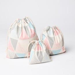Trunk Storage Box Australia - Fashion Canvas Small Cosmetic Bag Travel Make Up Case Organizer Storage Makeup Pouch Toiletry Wash Kit Box