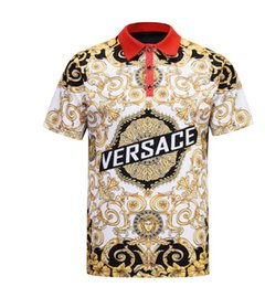 Chinese  New Kstyle High street Snake Little Bee Tiger print Polo Medusa Men T Shirt Fashion Casual Slim Fit Shirt embroidery Striped polo shirt manufacturers