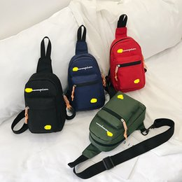 Messenger bag belt online shopping - Designer Fanny Pack CHAM Letter Waist Bags Solid Color Brand Mini Shoulder Bags Beach Travel Sports Shopping Belt Packs Phone Wallet