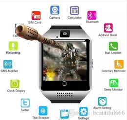 Digital Wrist Gps NZ - Brand Smart Watch Digital Wrist with Men Bluetooth Electronics SIM Card Sport Smartwatch Camera For iPhone Android Phone