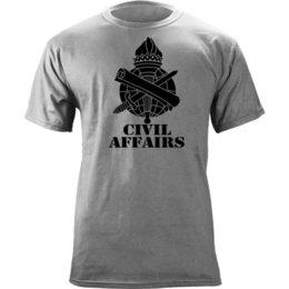 9b5b00c7 US Army Civil Affairs Branch Insignia Torch of Liberty Veteran Graphic T- Shirt Funny free shipping Unisex Casual Tshirt top