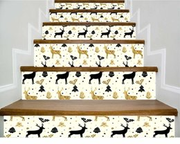 one piece sticker wall Australia - Live With Ones Own Family Decoration 3d Stairs Sticker Since Paste High Clear Steps Land Subsidies Can Shift Stickers Lt053