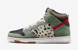 $enCountryForm.capitalKeyWord NZ - 2019 Release Authentic SB Dunk High Dog Walker Multicolor MULTI-COLOR BQ6827-300 Man Basketball Shoes Sports Sneakers With Original Box