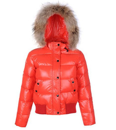 Jackets Big Collars Pattern Australia - best quality Women Thicken duck Down Jackets woman long sleeved big fur collar filled winter coat Parka Outerwear Plus Size S-2XL
